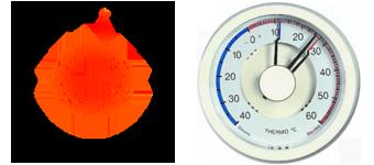 Thermomètre bilame