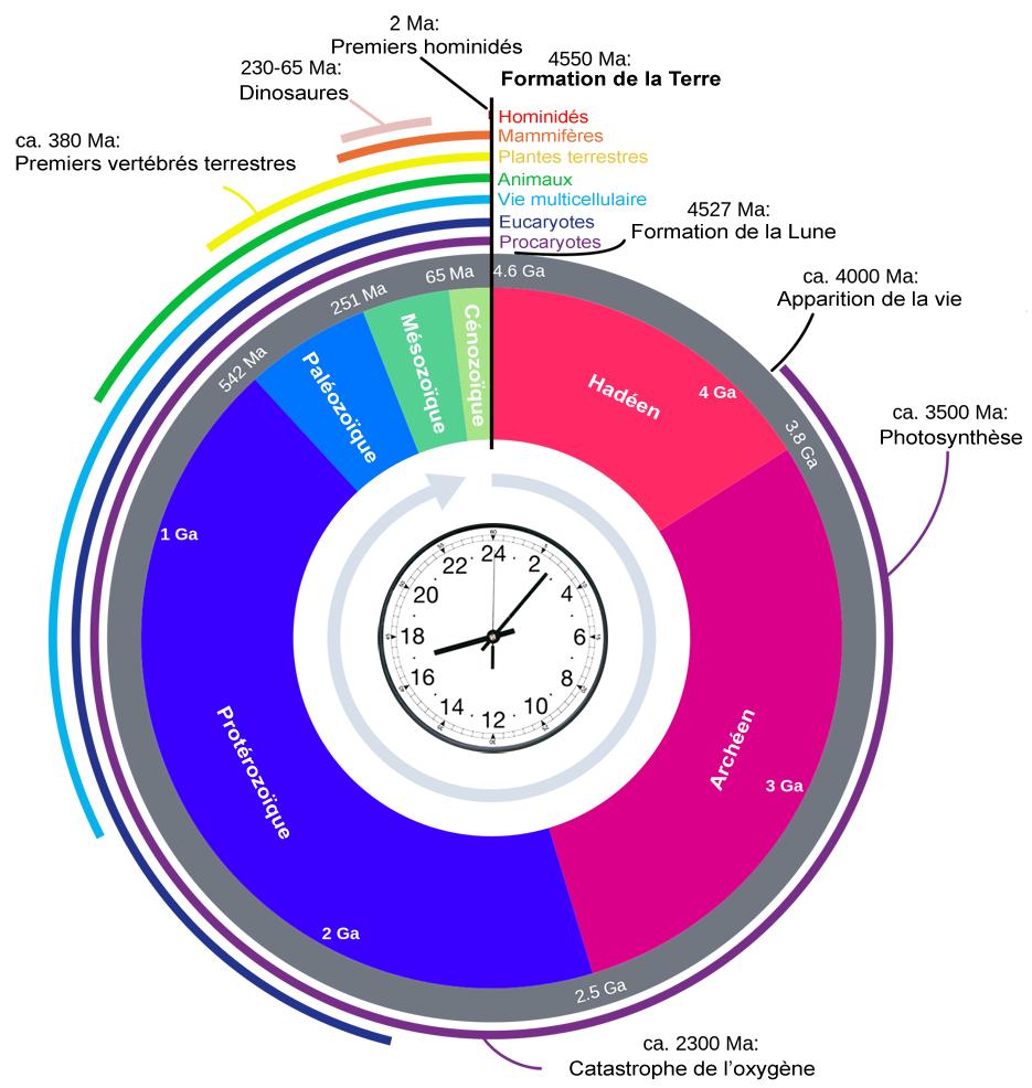 Horloge géologique