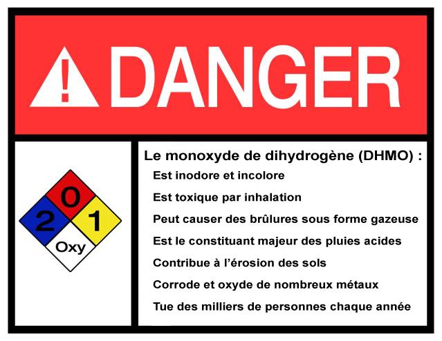Monoxyde de dihydrogène