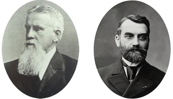 Friedrich Ratzel et Paul Vidal de la Blache