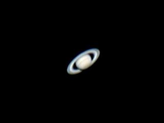 Saturne à la lunette